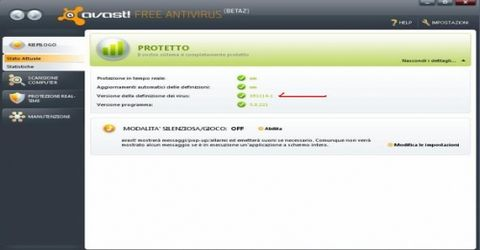 Antivirus Avast Home Edition