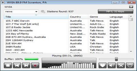 Ascoltare e Registrare Stazioni Radio Online