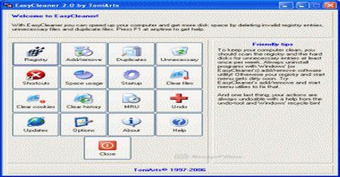 Cancellare Tutti i Tipi di File Inutili con EasyCleaner