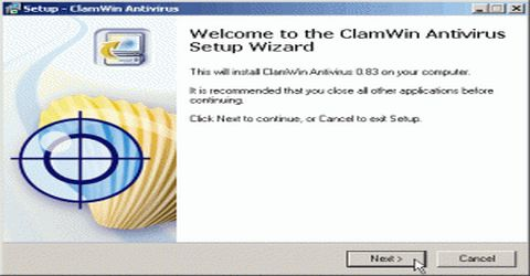 ClamWin Antivirus Anche per Windows