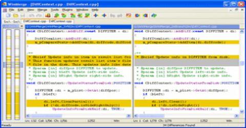 Confrontare il Contenuto di Files con WinMerge