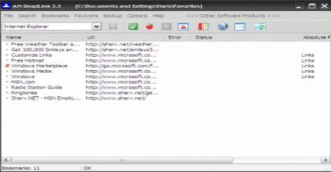 Controllare i Link Presenti Fra i Preferiti del Browser