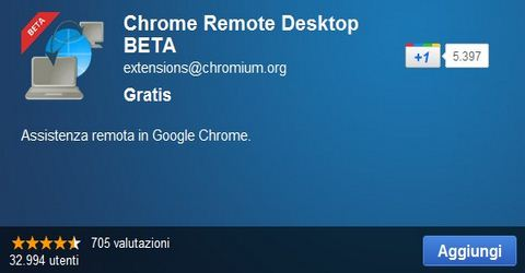 Controllo Remoto del Pc con Google Chrome