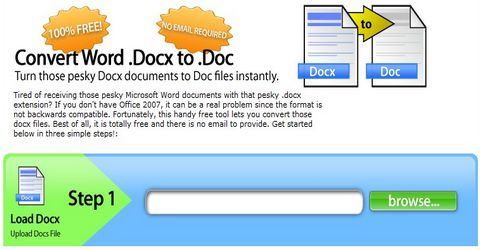 Convertire File docx di Office