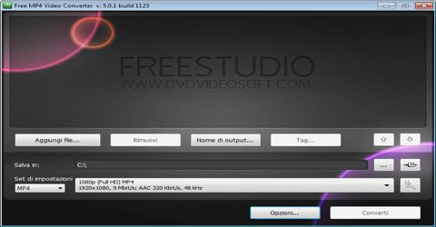 Convertitore di File Video Nel Formato Mp4