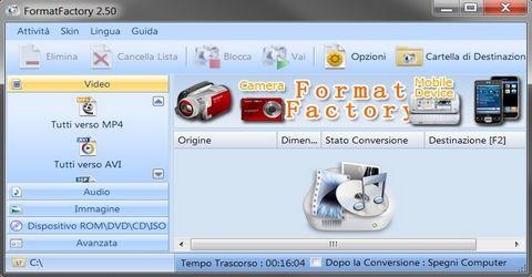 Convertitore Universale di Formati Multimediali