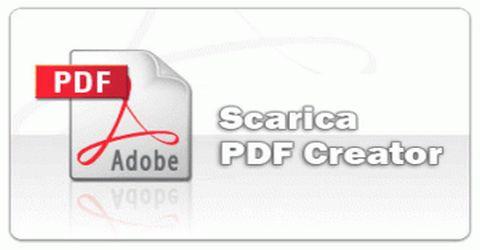 Creare File Pdf da Qualsiasi Documento