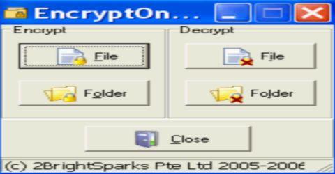 Criptare Decriptare File e Cartelle