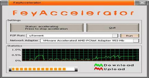 FeyAccelerator per Velocizzare eMule e uTorrent