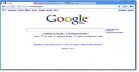 Il Browser Web Gratuito di Casa Google