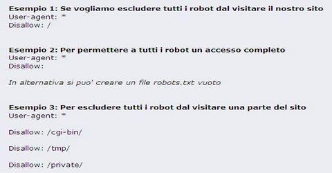Il File Robots.txt