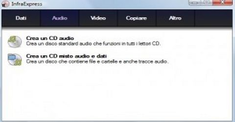 InfraRecorder per Masterizzare Cd e Dvd