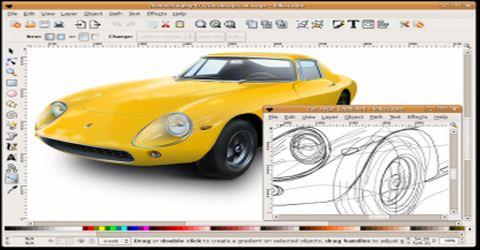 Inkscape Programma per Disegno Tecnico