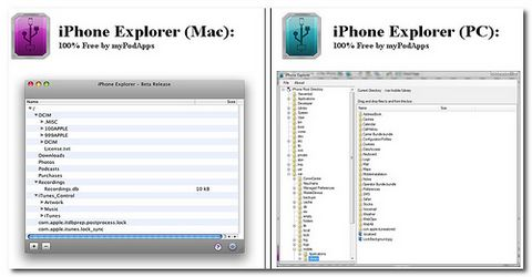 iPhone Explorer Alternativa a iTunes
