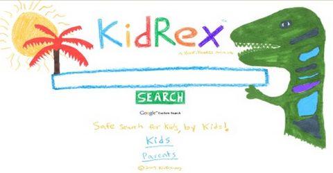 KidRex Motore di Ricerca per Bambini