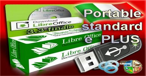 LibreOffice 3.3 Italiano Portable Standard e Plus