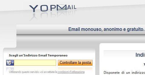 Ottenere un Indirizzo E-Mail Temporaneo