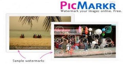 Picmarkr Inserisce un Watermark alle Immagini