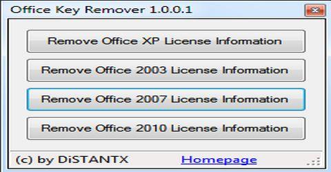 Rimuovere i Codici Seriali di Microsoft Office