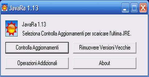 Rimuovere le Vecchie Versioni Java