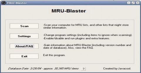 Ripulire il Pc dalle Liste MRU