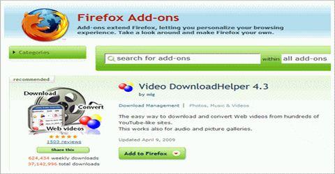 Scaricare Qualsiasi Video con Firefox