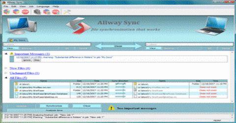 Sincronizzazione File con Allway Sync