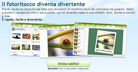Strumento Online per Modificare Immagini