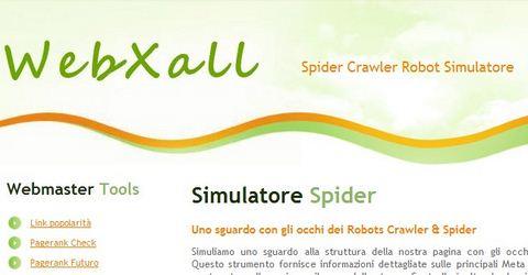 Test Cosa Vedono Robots Crawler e Spider
