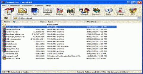 WinRar per Gestire Archivi Compressi