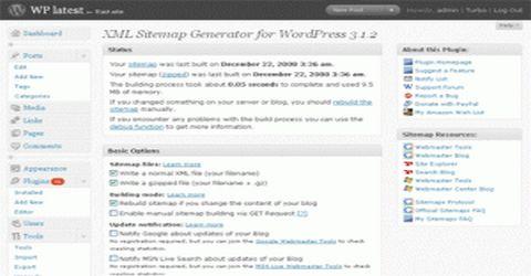 WordPress Generare la Sitemap del Sito