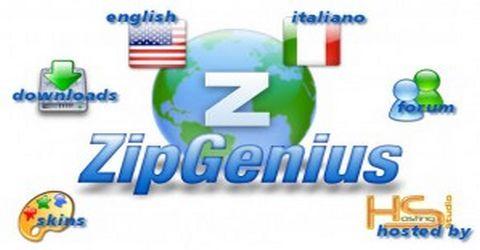 ZipGenius Compressore di Archivi Gratuito